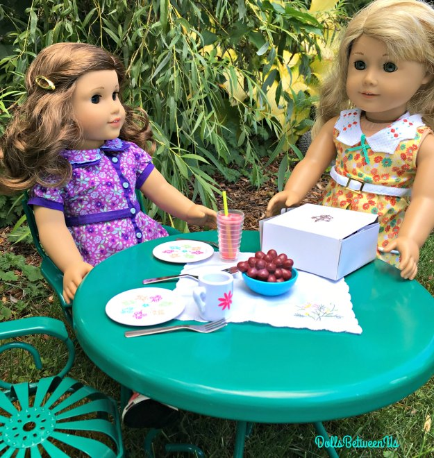 Doll Garden Table